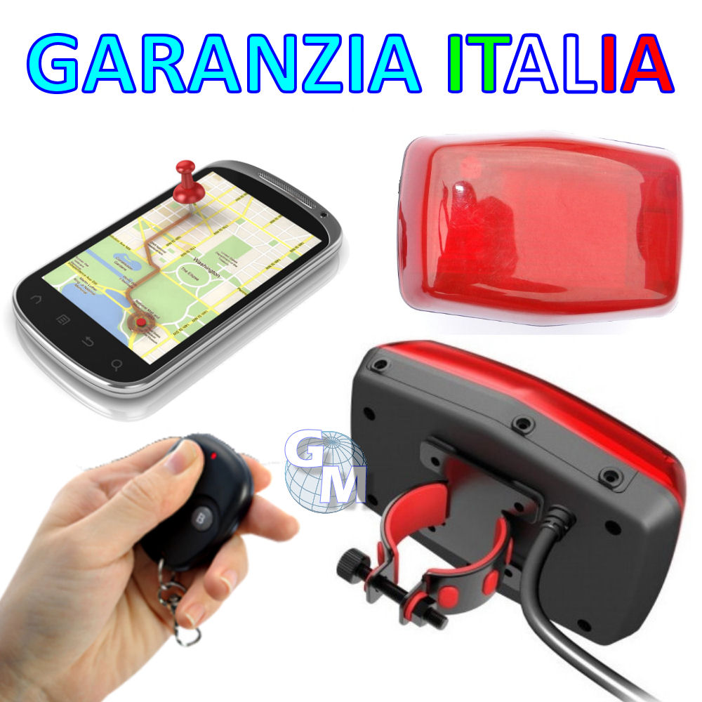 tracker gps antifurto localizzatore satellitare per moto gps304 android iphone a ebay. Black Bedroom Furniture Sets. Home Design Ideas