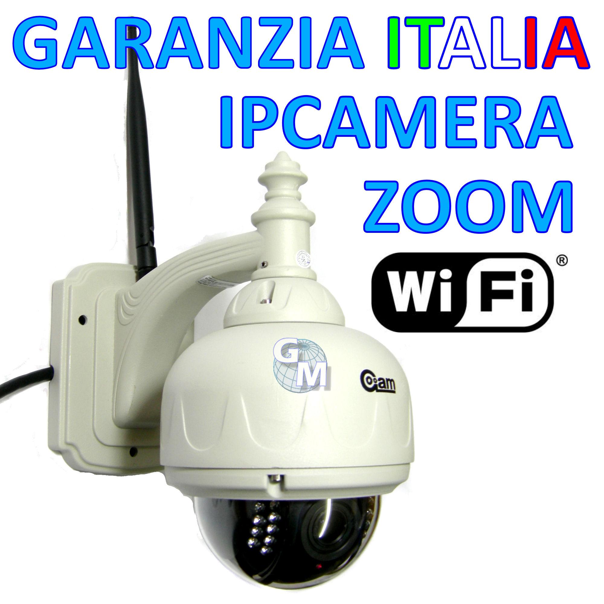 Casa moderna roma italy telecamera wireless da esterno for Telecamere da esterno casa